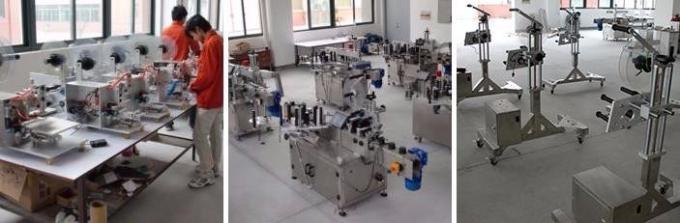 HIGGE स्मॉल प्लास्टिकची बाटली लेबलिंग मशीन, पेनिसिलिन बाटली लेबल स्टिकर मशीन