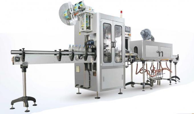 निसर्ग स्प्रिंग वॉटर आंकवा स्लीव्ह लेबलिंग मशीन / संकुचित स्लीव्ह Applicप्लिकेटर मशीन