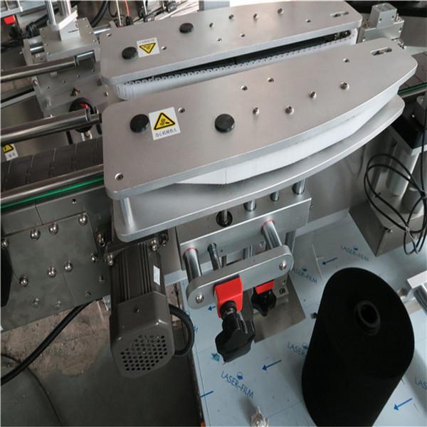 पूर्ण स्वयंचलित स्क्वेअर बाटली लेबलिंग मशीनरी 4000-8000 बी / एच क्षमता