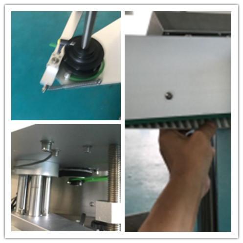बिअरची बाटली डबल साइड स्टिकर लेबलिंग मशीन, स्वयंचलित स्टिकर लेबलिंग मशीन
