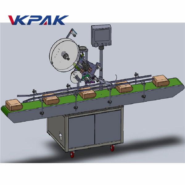 स्वयंचलित फीडिंग शीर्ष लेबलिंग मशीन