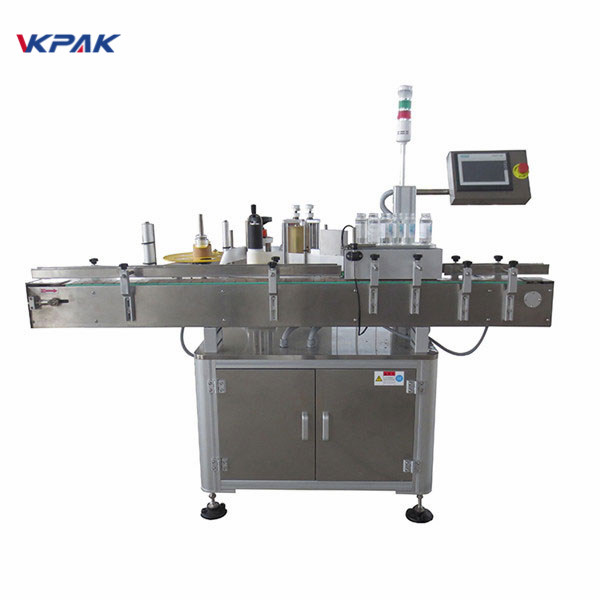बीअरची बाटली 220 व्ही 1.5 एचसाठी स्वयंचलित स्टिकर लेबल atorप्लिकेटर मशीन