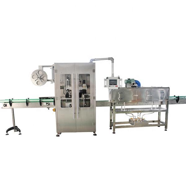 डबल साइडिंग स्टेनलेस स्टील विविध बाटल्यांसाठी स्लीव्ह लेबलिंग मशीन संकुचित करा