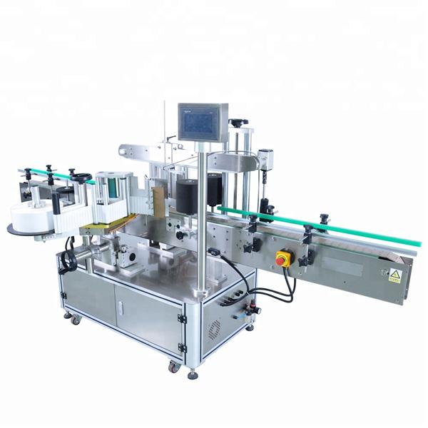 अनियमित कंटेनरसाठी हाय स्पीड गोल बाटली स्टिकर लेबलिंग मशीन