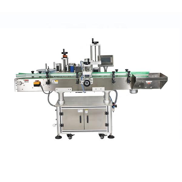 इंटेलिजेंट पीएलसी कंट्रोल ऑटोमॅटिक डबल साइड स्टिकर्स लेबलिंग मशीन