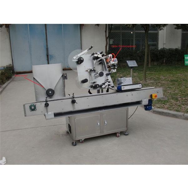 ओरल लिक्विड बॉटल वायल स्टिकर लेबलिंग मशीन