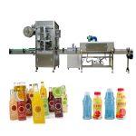 संकुचित बोगदा / स्टीम जनरेटरसह पाळीव बाटली संकुचित स्लीव्ह लेबलिंग मशीन