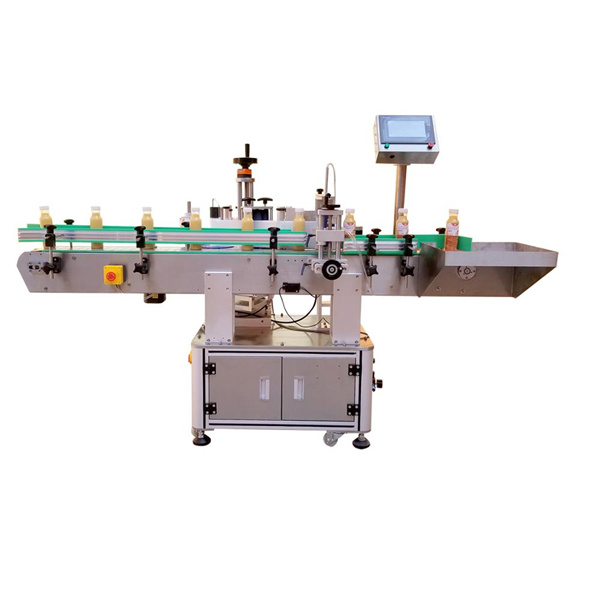 व्यावसायिक बाटली स्टिकर लेबलिंग मशीन