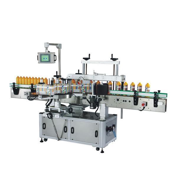सेल्फ hesडसिव्ह लेबलिंग मशीन फ्रंट बॅक