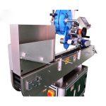 एम्पौल्स / ओरल लिक्विड बॉटलसाठी स्टेनलेस स्टील शीशी स्टीकर लेबलिंग मशीन