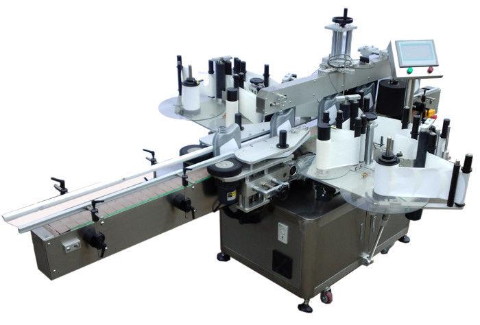 चीन एसयूएस 304 बाटली लेबलिंग पुरवठादारासाठी स्टेनलेस स्टील इकॉनॉमी डबल साइड स्टिकर लेबलिंग मशीन