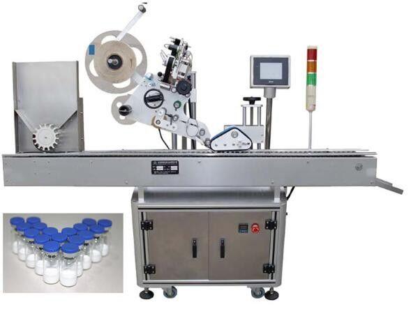 फार्मास्युटिकल्ससाठी 10 मिली स्मॉल बाटली लेबलिंग मशीन