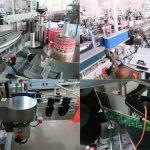 डेली बॉटलस फ्रंट आणि बॅक लेबलिंग मशीन, जार लेबलिंग मशीन