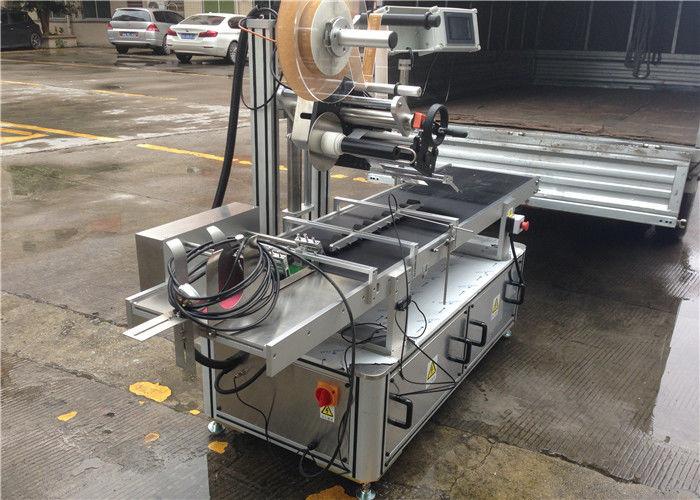 हाय स्पीड रोलर्स टॉप स्टीकर लेबल मशीन स्टेप मोटर कंट्रोल