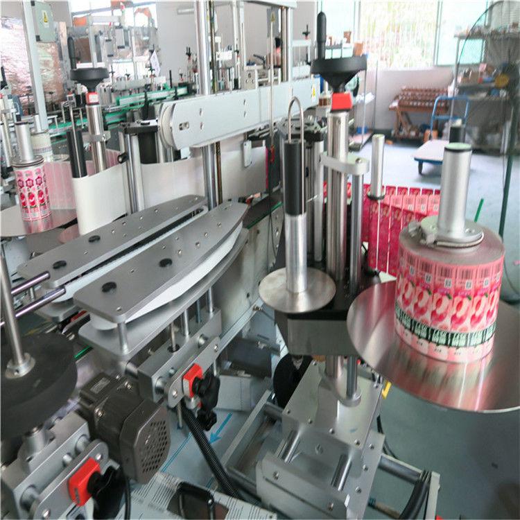 फ्रंट बॅक ऑटोमॅटिक स्टिकर लेबलिंग मशीन सेल्फ hesडझिव्ह 330 मिमी कमाल बाह्य व्यास