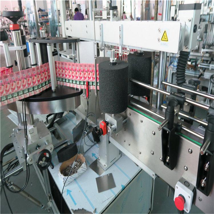 स्वयंचलित रोल केलेले लेबल चिकट स्टिकर लेबलिंग मशीन 220 व् / 380 व्ही