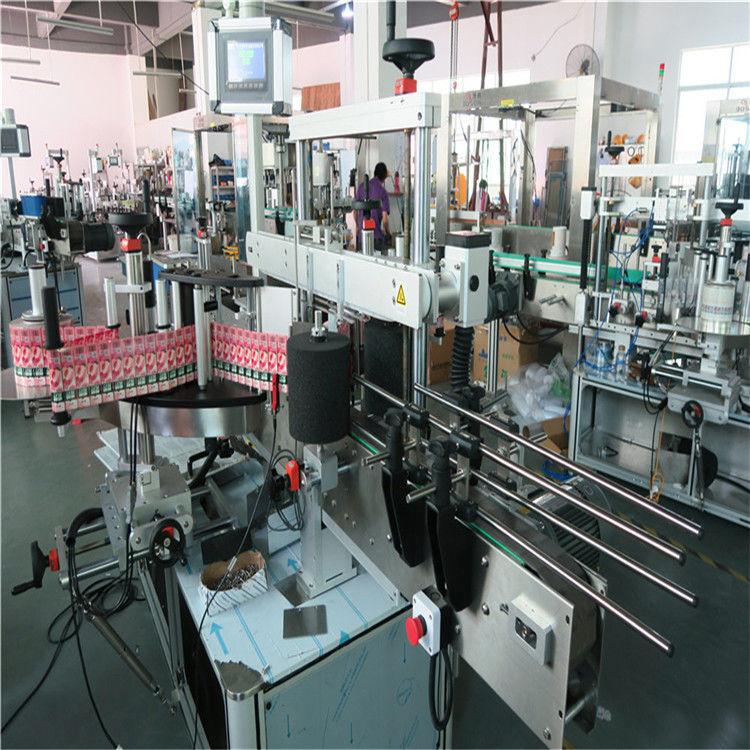 चीन 350 एमएल स्वयंचलित ग्लास बाटली लेबलिंग मशीन 190 मिमी उंची मॅक्स सप्लायर