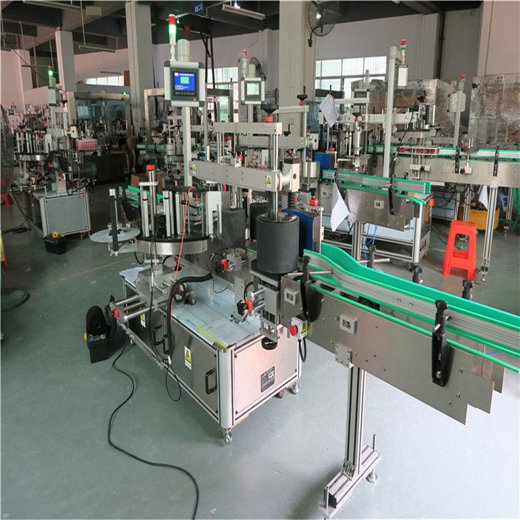 गोल पाळीव बाटली लेबलिंग मशीन, स्वयंचलित लेबल atorप्लिकेटर मशीन