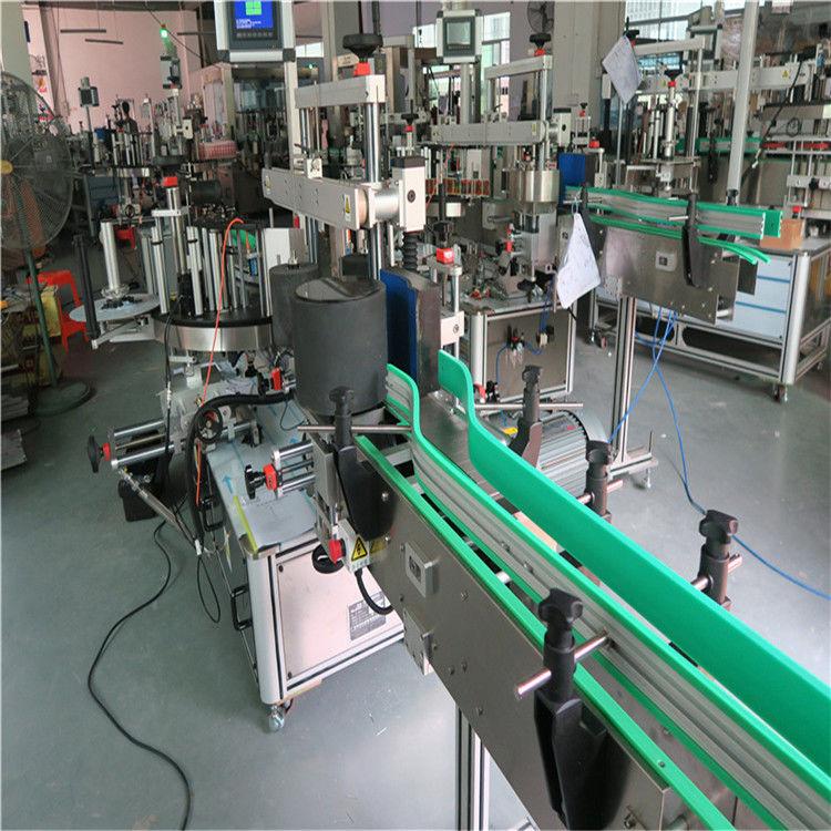 डबल साइड सेल्फ अॅडझिव्ह स्टिकर बाटली लेबलिंग मशीन 190 मिमी उंची मॅक्स