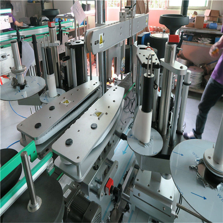 चीन पूर्ण स्वयंचलित स्टिकर लेबलिंग मशीन, वॉटर बॉटल फ्रंट आणि बॅक लेबलिंग मशीन पुरवठादार