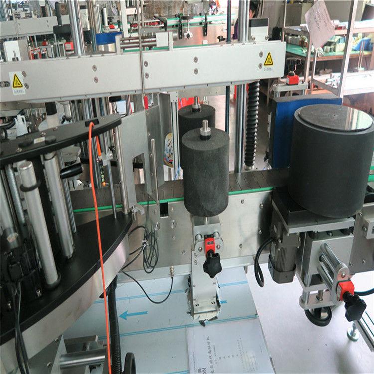 ऑस्ट्रेलिया / चिली वाइन ग्लास बाटली पुरवठादार साठी चीन स्वयंचलित ग्लास बाटली लेबलिंग मशीन