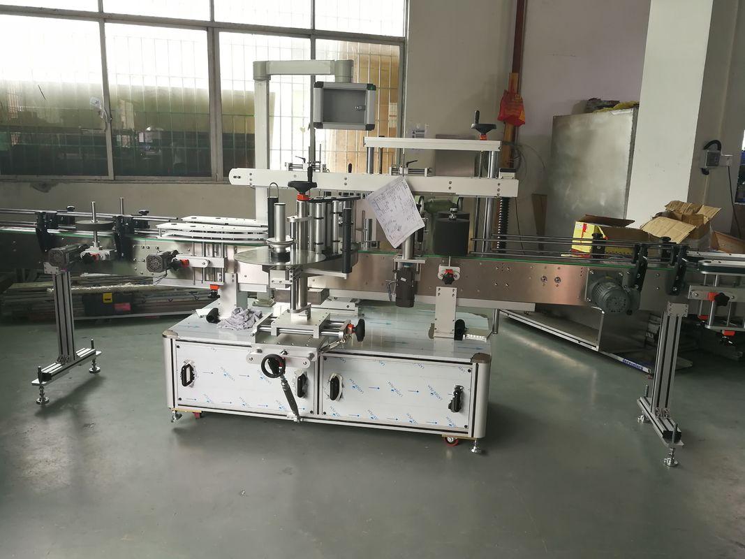 रस / वाईन बाटली स्वयंचलित स्टिकर लेबलिंग मशीन, स्वयंचलित लेबलर मशीन