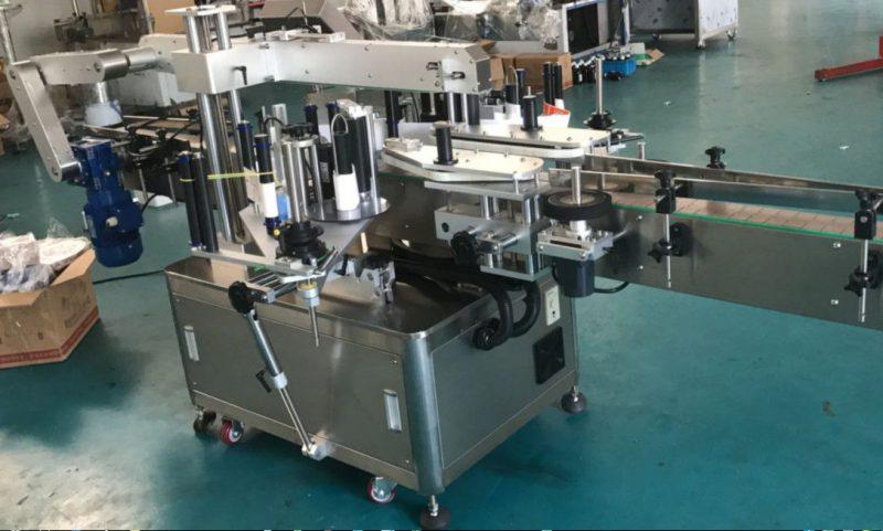 चौरस / गोल / सपाट बाटली पुरवठादारासाठी चीन हाय स्पीड डबल साइड स्टिकर लेबलिंग मशीन