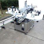 कोडिंग मशीनसह सानुकूलित तीन किंवा डबल साइड स्टिकर लेबलिंग मशीन