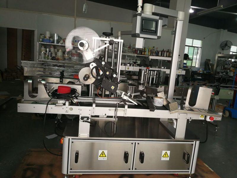 प्लॅस्टिक बॅग / न छापलेले पुठ्ठा / मास्क बॅग पुरवठादार यासाठी चीन पेजिंग टॉप लेबलिंग मशीन
