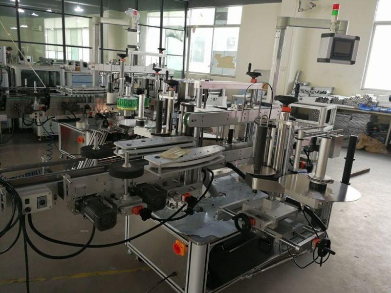 फार्मास्युटिकल कार्टन सप्लायरसाठी चीन हाय स्पीड ड्युअल कॉर्नर सील लेबलिंग सिस्टम