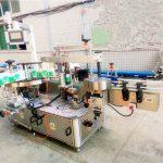 शैम्पू आणि डिटर्जंटसाठी डबल साइड स्टिकर लेबलिंग मशीन