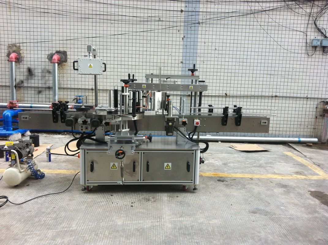 वॉटर बॉटल लेबलिंग उपकरणांसाठी प्लास्टिकची बाटली लेबलिंग मशीन
