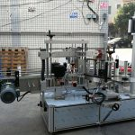 पीएलसी टच स्क्रीनसह सेल्फ hesडझिव्ह बेलनाकार / ओव्हल बाटली लेबलिंग मशीन