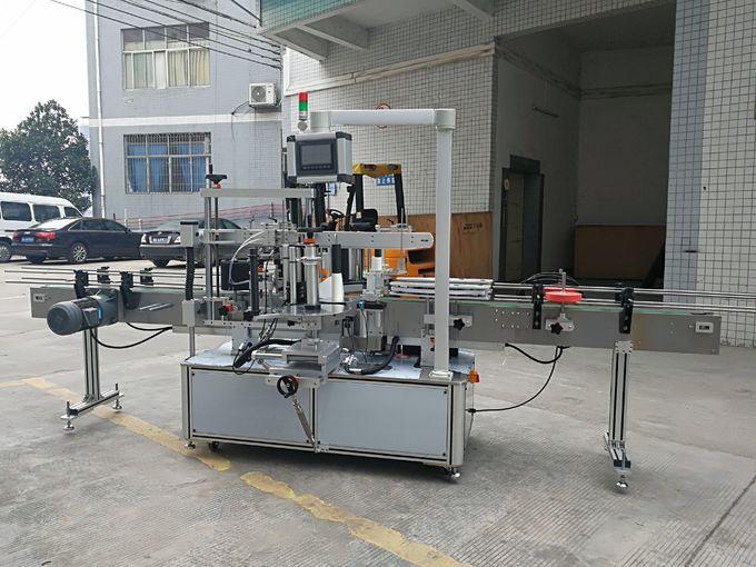 पूर्ण स्वयंचलित कार्टन कॉर्नर सीलिंग स्टिकर लेबलिंग मशीन 220 व्ही 50 एचझेड 1200 डब्ल्यू