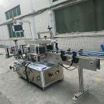 सेल्फ hesडझिव्ह स्टिकर डबल साईड बाटली लेबलिंग मशीन पूर्ण स्वयंचलित